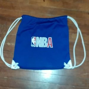 NBA netted laundry bag/ backpack